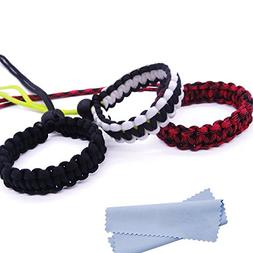 Maveek Camera Wrist Strap 3 Pack 3 Color Braided 550 Paracor