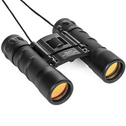 Lucky Bums Youth Kids 10x25 Objective Power Lens Scout Bino