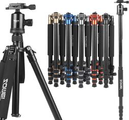 ZOMEI Z888 Pro Aluminum Camera Tripod Monopod Ball Head for