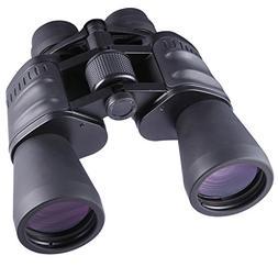 10-30x50 Zoom Binoculars for Adults Bird Watching HD Powered