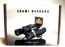 Sharper Image 12X Zoom Digital Camera Binoculars