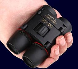Zoom Day Night Vision 30x60 Binoculars Outdoor Travel Foldin