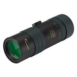 Aurosports 8-24x30 Zoom Monocular Waterproof Pocket Telescop