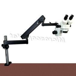2X-45X Zoom Stereo Binocular Microscope with Articulating Ar