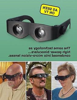 Zoomies Hands Free Binoculars 4X Magnification Zoom Enlarge