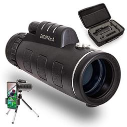 Armstrong 10x42 Zooming Monocular Telescope with Smartphone